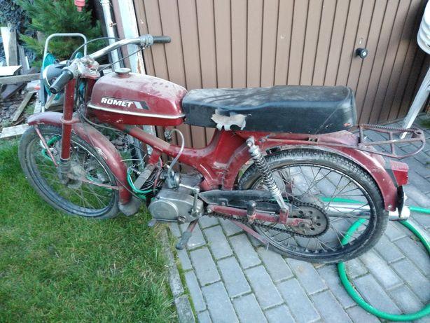 Romet 50 T1 rama z silnikiem
