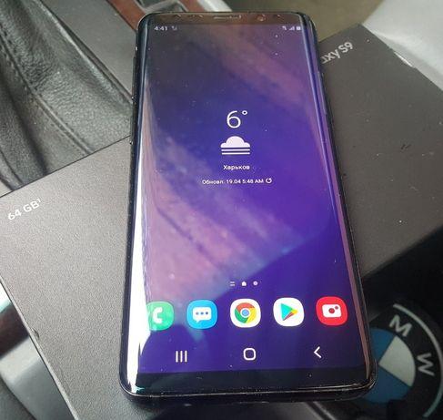 Samsung Galaxy s9 Black 64GB 4G Model 960U USA целый рабочий подарок!
