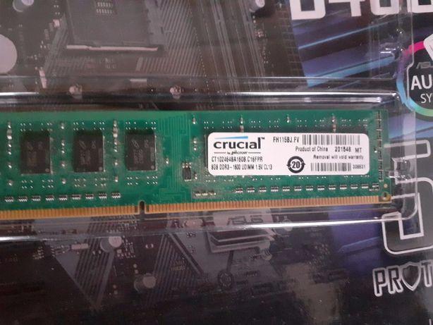 оперативна память crucial 8gb ddr3 1600 udimm
