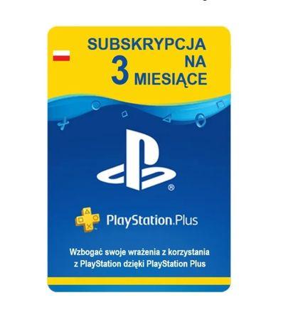 Subskrypcja Playstation Plus 3 miesiące 90dni psn