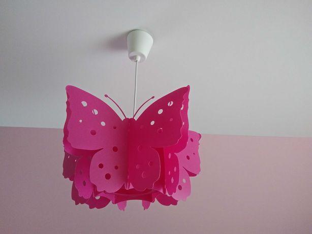 Lampa sufitowa - motylki, do pokoju dziewczynki