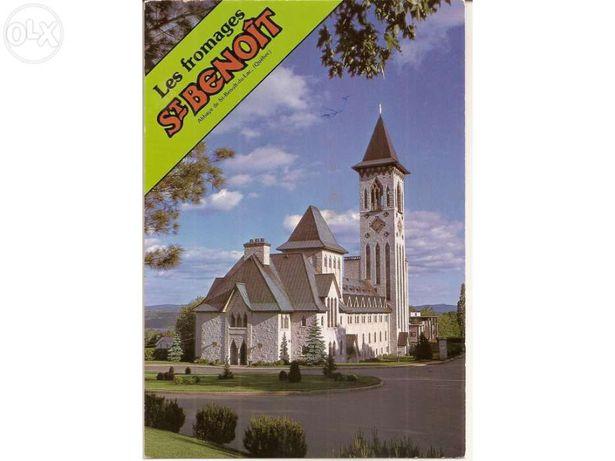 Postal da Abadia de St. Benoit - Quebec (Portes Incluídos)