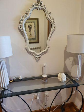 Consola e espelho