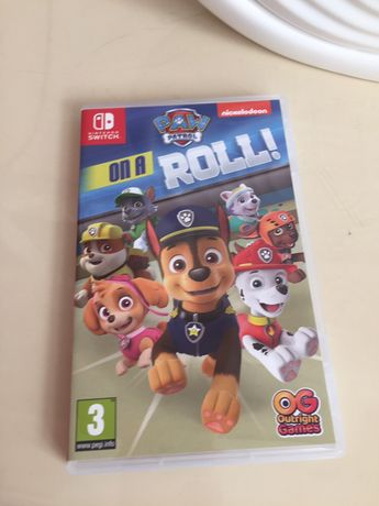 Gra Psi Patrol on a Roll! Nintendo switch jak Nowa