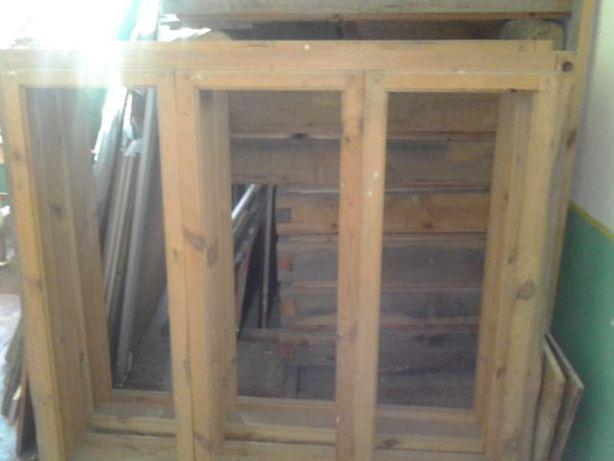 Нові дерев'яні вікна без завісів, Ш1700мм В1500 мм, Ціна за 1 вікно