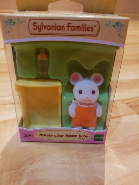 Sylvanian Families Белоснежный мышонок 5336