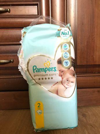 Підгузки pampers premium care 2 (4 -8 кг) 46 шт