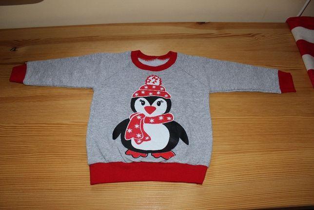 Детский новогодний свитер (свитшот)