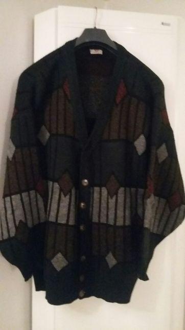 Sweter welniany rozpinany