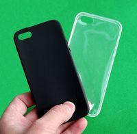 Чехол Apple Iphone 5 5s SE черный прозрачный бампер защитное стекло