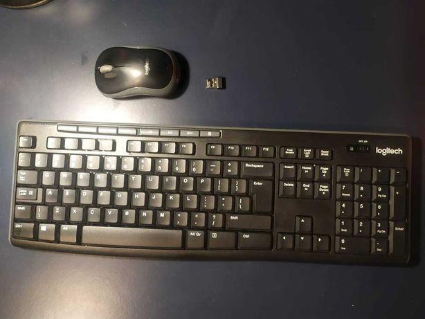 klawiatura bezprzewodowa i myszka bezprzewodowa