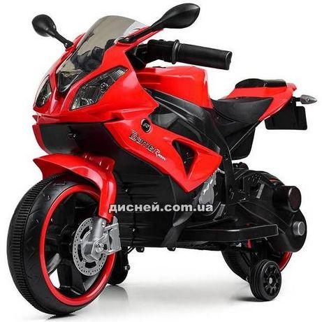 Детский мотоцикл WNU4103-3 BMW, электромобиль, Дитячий електромобiль