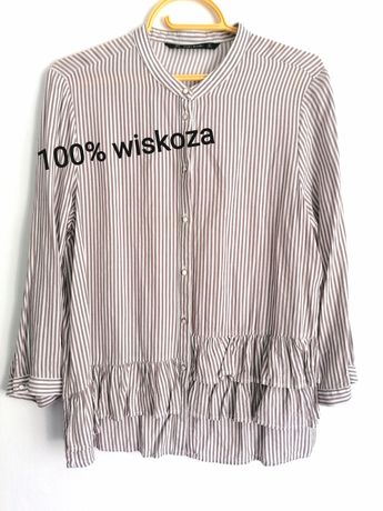 Bluzka ZARA wiskoza 38-40