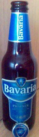3 sztuki Butelka BAVARIA+kapsle [puste-NL] Mają kaucje po 0,10€