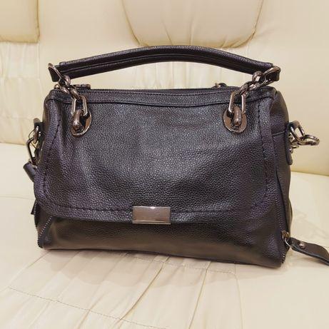 Женская кожаная сумка из натуральной кожи Турция