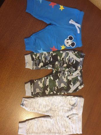 Spodnie, spodenki dresowe r.68