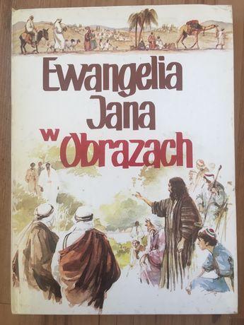 Ewangelia Jana w obrazach biblia