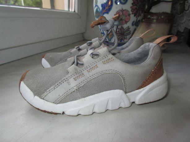 Кожаные кроссовки Clarks 25 р