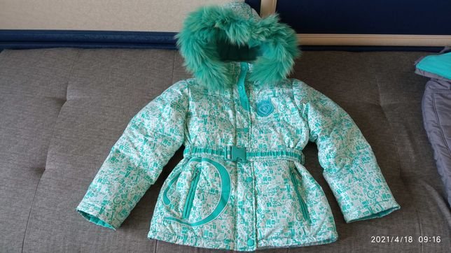 Зимний комбинезон на девочку (куртка, штаны)