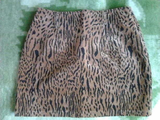 Юбка леопардовая девочке подростку
