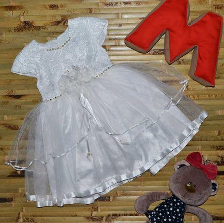 Нарядное пышное платье на девочку, святкове плаття дитяче