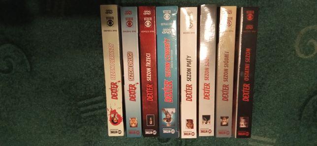Dexter sezony 1-8 dvd wydanie pl
