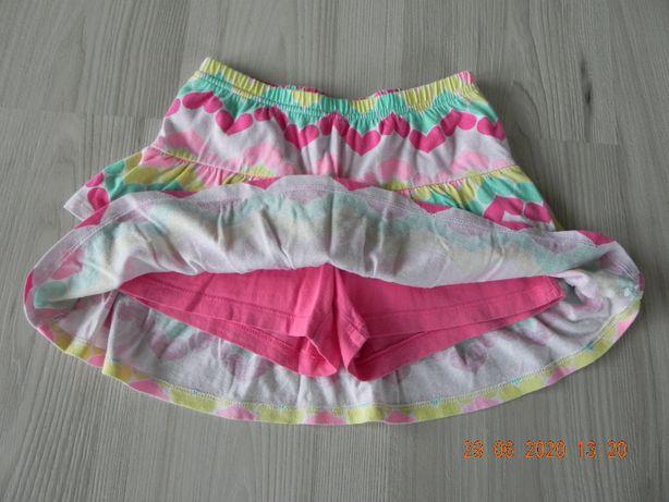 spódniczko-spodnie spodenki spódniczka 6 lat jumping beans