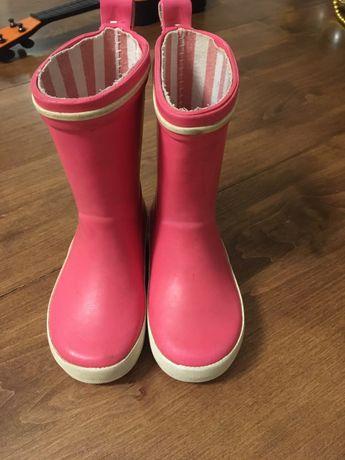 Гумові чобітки резиновые сапоги гумачки 22р