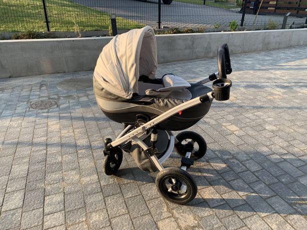 Wózek dziecięcy wielofukcyjny 2w1 3w1 Tako Moonlight Carbon ekoskóra