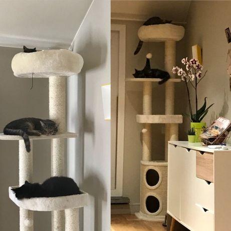 В НАЛИЧИИ! Дерево для кота когтеточка домик для кота, драпак 194см