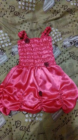 Нарядное платье 92-98