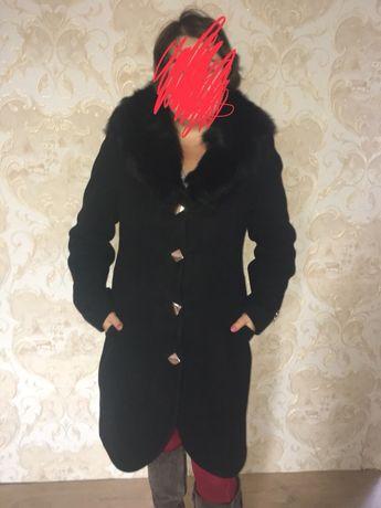 Пальто (парка,куртка,пуховик,дублёнка,шуба)зимнее пальто,тёплое48-50р.