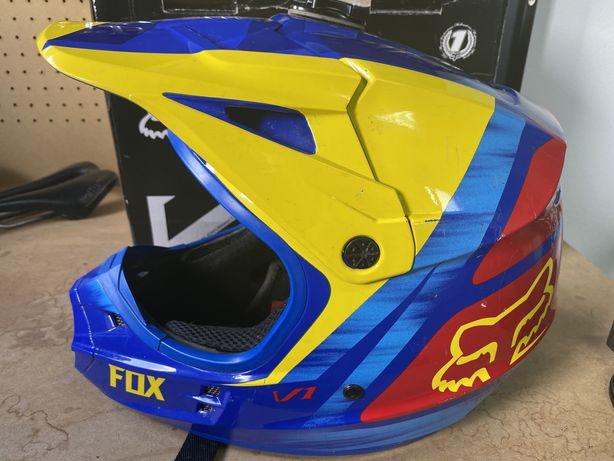 Fox V1 Pilot - Capacete Off-Road / Motocross / Enduro