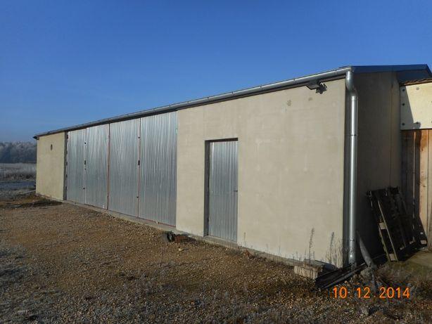 Garaż hala 8x16 ocieplona metalowa