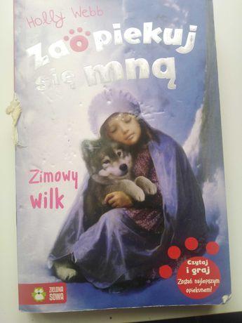 Książka,, Zimowy Wilk''