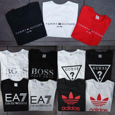 MEGA WYPRZEDAŻ koszulek koszulki męskie damskie Hugo Boss levi's Nike