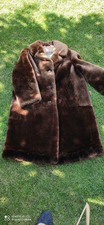 Płaszcz damski futro vintage