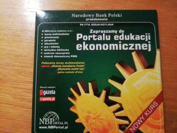 Kurs na CD Portal edukacji ekonomicznej od NBP - unikat