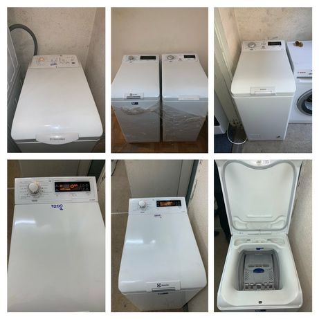 Вертикальна пральна машина Electrolux Bosch Whirlpool Bauknecht від