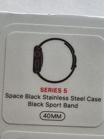 Apple Watch Series 5 bracelete Aço