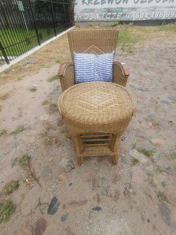Fotel +stolik na taras