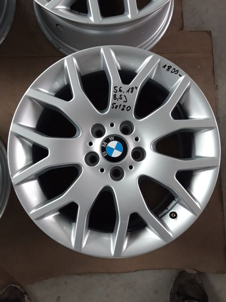 56 Felgi Aluminiowe ORYGINAŁ BMW R18 5x120 X3 X5 ŁADNE