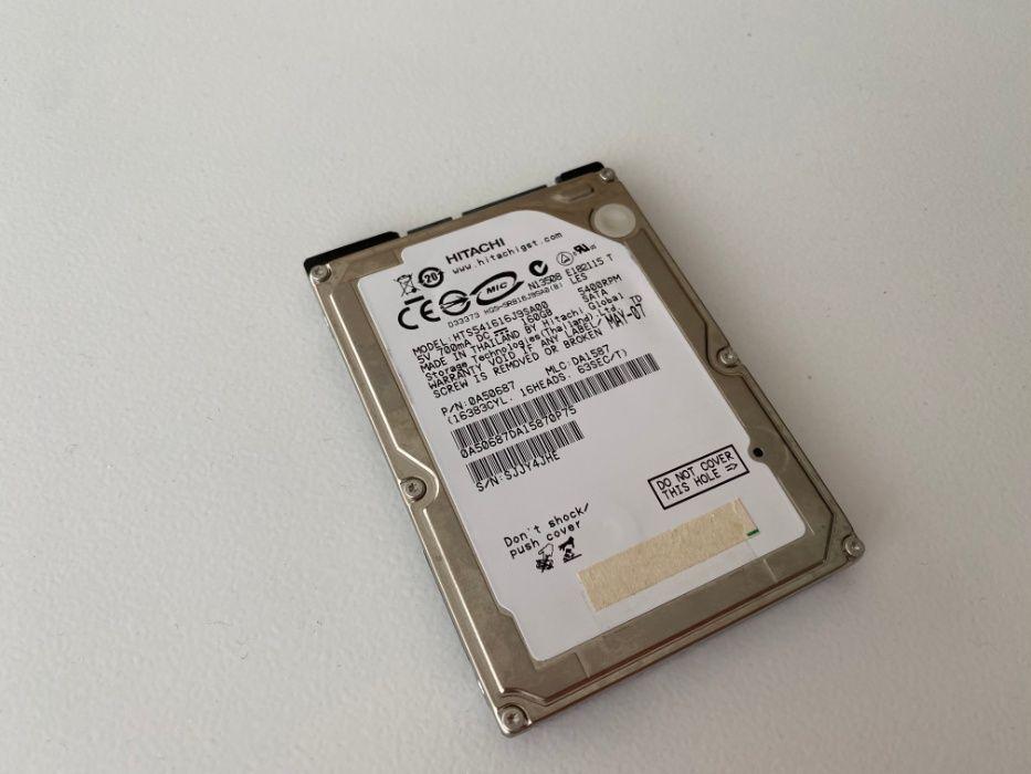 Disco HDD 2.5 Hitachi 160 GB Rosto de Cão (Livramento) - imagem 1