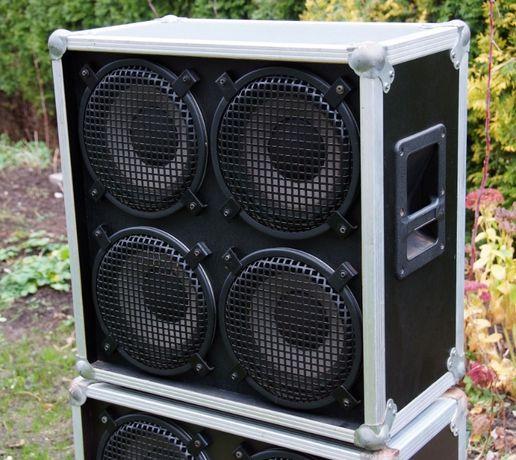 Kolumna gitarowa lub basowa z lat 80tych 4x10 bez głośników