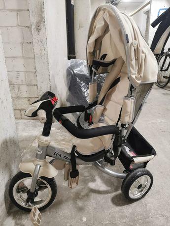 NOWY Lux Trike Rowerek Trójkołowy