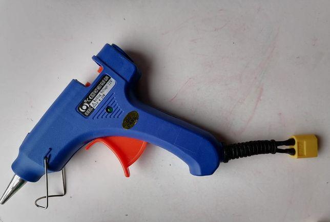 Pistola de cola quente DGHL, portátil(bateria 3s). Nova