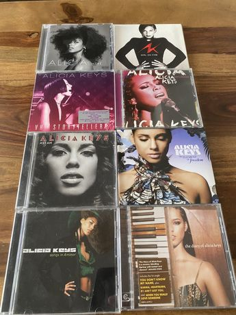 Alicia Keys - komplet 8 plyt CD