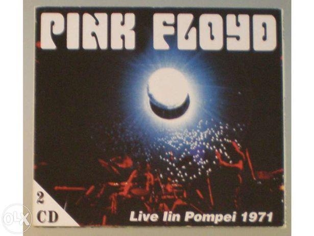 Pink Floyd - Live in Pompei 1971. Duplo CD Raríssimo.