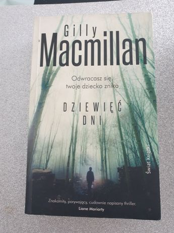 Gilly Maxmillan Dziewięć dni thriller psychologiczny