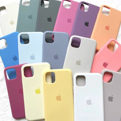 Чехол Silicone Case Apple Iphone 5, 6s, 7, 8+ , XR, XS Max, 11 Pro Max